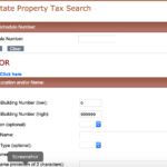 Property Tax Search